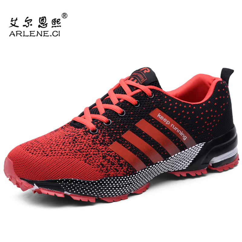 Tennis-Shoes Sneakers Trainers Tenis Sports Air-Cushion Men Breathable For Mesh Hombre