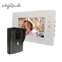 7 Color Video Door Phone Video Intercom Door Intercom Doorphone IR Night Vision Camera Doorbell Kit