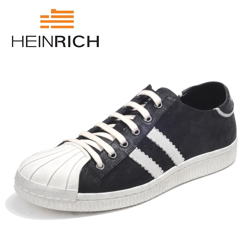 HEINRICH 2018 New Spring Classic Men Canvas Shoes Comfortable Lace-Up Mens Shoes Fashion Wear-Resistant Breathable Casual Shoes mycolen 2018 new spring autumn classic men casual shoes comfortable flat shoes fashion breathable wear resistant shoes