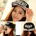 wholesale men graffiti brim straight snapback women baseball cap female hip hop bone male leisure chapeau new