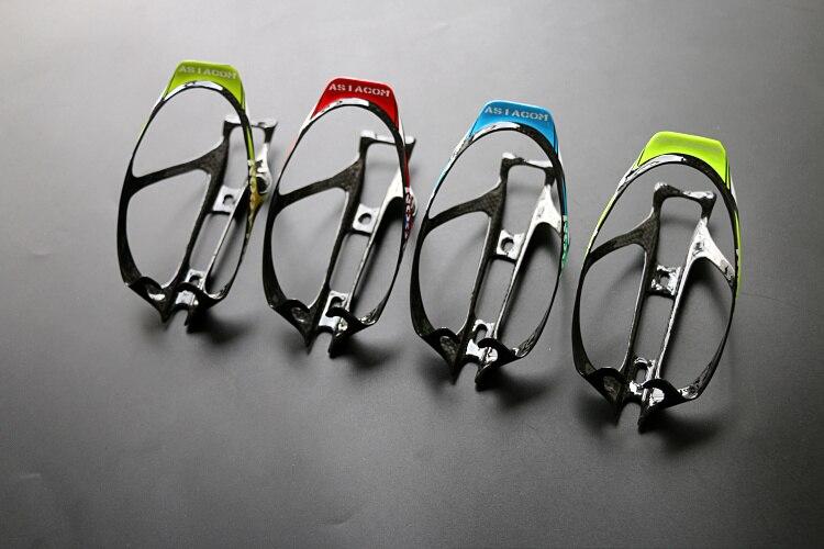 Acheter Nouveau 4 couleurs ASIACOM Route vélo complet en fiber de carbone boisson bouteille d'eau cages vtt porte bouteille de carbone cages Livraison le bateau de Bicycle Bottle Holder fiable fournisseurs