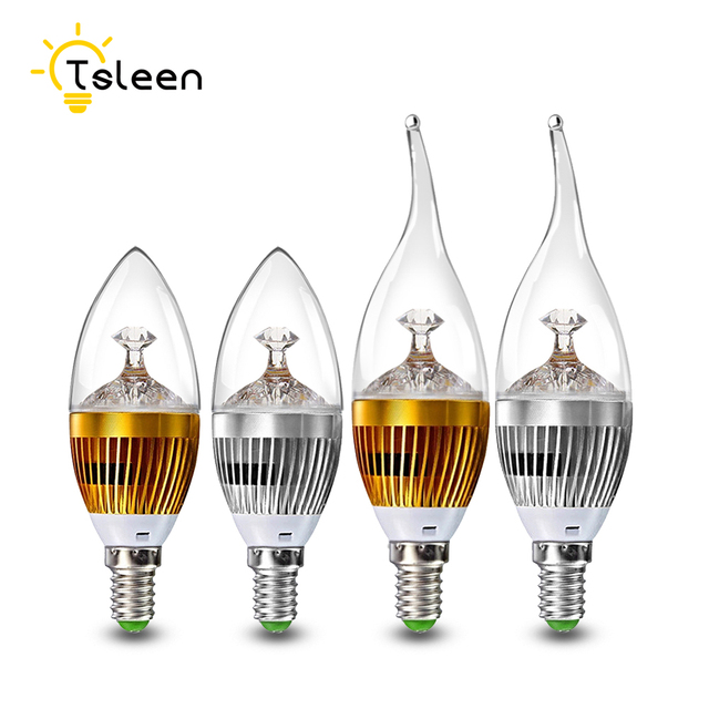 Aliexpress Buy 10x E14 Led Candle Bulb Energy Saving Lamp