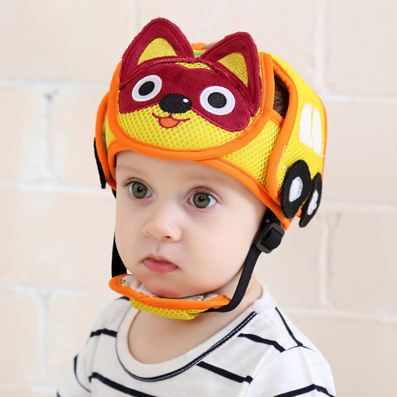 Baby Shatter-resistant Head Cotton Crystal Wool Protection Cap Baby Toddler Bumper Cap Child Safety Helmet Head Pillow Wholesale защитный детский шлем
