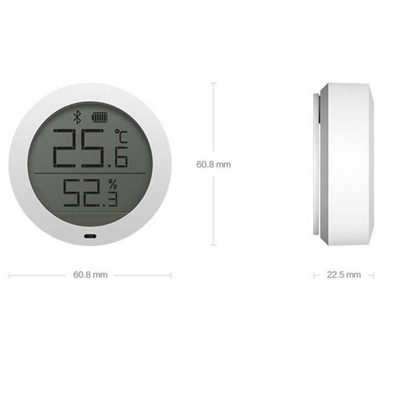 Xiaomi Mijia デジタルスマートワイヤレスサーモスタット精度温度湿度センサーメーター作業 app