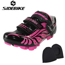 Sidebike Women Cycling Shoes Outdoor Mtb Shoes Breathable Mountain Bike Bicycle Shoes Zapatillas Ciclismo Ultralight Mtb Shoes