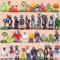60pcs/set PVZ Plants vs Zombies PVC Action Figures Collection Figures Toys Gifts Plants + Zombies