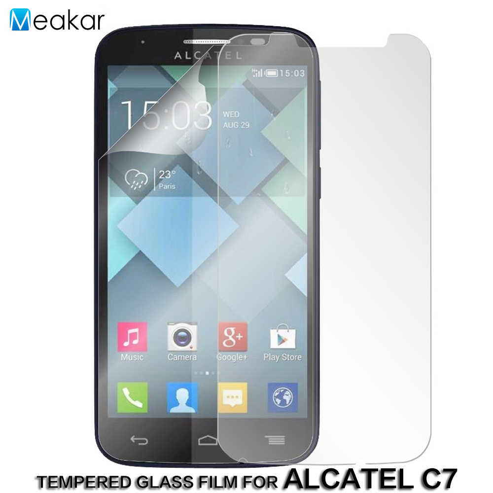 5.0For Alcatel One Touch Pop C7 Protector de pantalla para Alcatel One Touch Pop C7 7040 7041 7040A Ot 7040D 7041D de vidrio templado