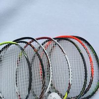1pc Full Carbon Badminton Racket With T Jiont 4U 82g JP Attack Speed Badminton Racquet