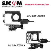 Original SJCAM Accessories SJ6 Legend/SJ7 Star Motorcycle Waterproof Case SJ7 housing with USB Cable for SJ6 & SJ7 Action Camera