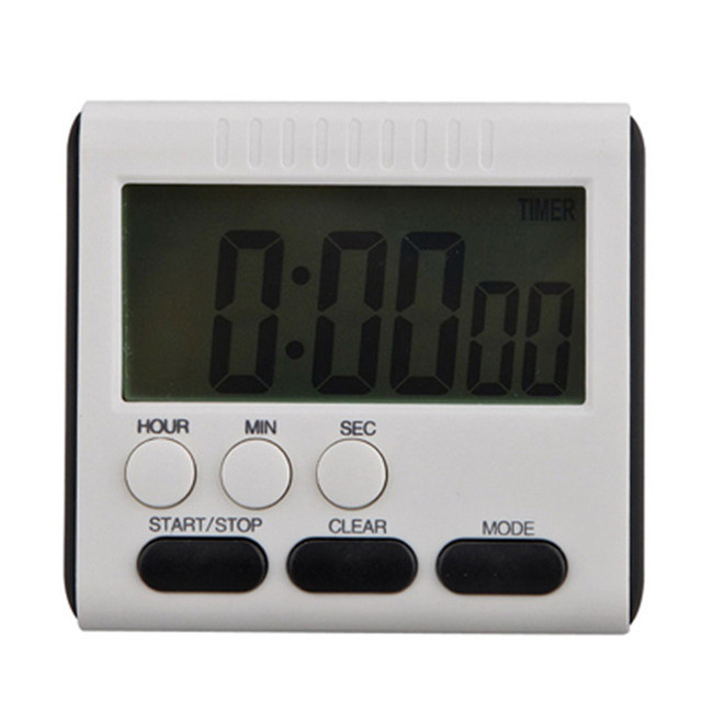 Loud Kitchen Timer Runner Rugs For Cooking Digital Square Magnetic Large Lcd Count Up Down Alarm Clock