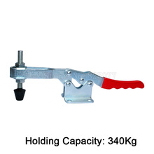 Wholesale 100PCS 340Kg Holding Capacity Horizontal Toggle Clamp Metal Quick Release Tool JF1595 цена
