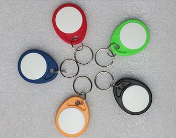 No 4 T5577 piloty kolorowe T5577 kopiowanie wielokrotnego zapisu zapisywalne piloty znacznik RFID Key Ring Card 125KHZ Token zbliżeniowy znaczek tanie i dobre opinie Pasywne Karty Bezstykowe Karty ID Odczytu zapisu 2-5cm 44*35*4 0mm Rodanliu Alien Karty