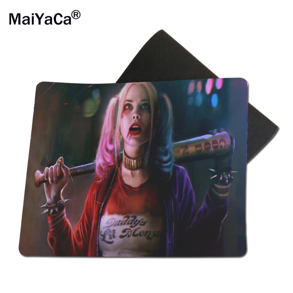 MaiYaCa Harley Quinn Mouse Mats Computer Laptop Notbook 18*22cm and 25*29cm