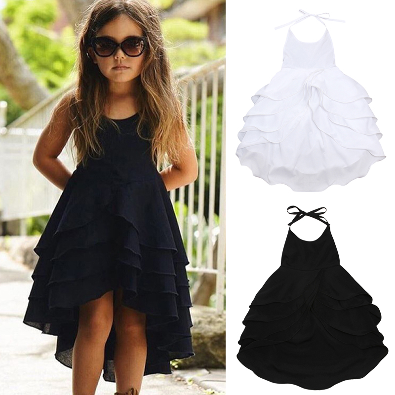 Rorychen Party-Dress Newborn Baby-Girls Princess Fashion Summer Sleeveless Back 1-5yrs