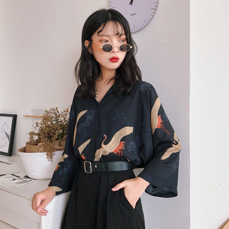 Günstige großhandel 2018 neue herbst winter Heißer verkauf frauen mode casual damen arbeit Shirts G195