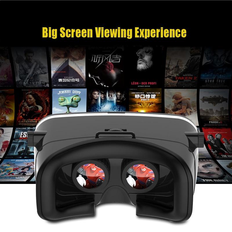 Shinecon <font><b>VR</b></font> <font><b>box</b></font> <font><b>Version</b></font> Virtual Reality 3D Glasses Headset <font><b>Head</b></font> <font><b>Mount</b></font> <font><b>Google</b></font> <font><b>Cardboard</b></font> Movie Game For 4-6 inch SmartPhone
