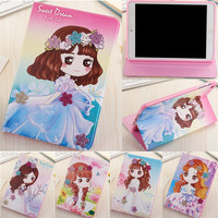Case For IPad Air 3 For Ipad 7 PU Leather Fashion Woman Girl Case Soft Silicone