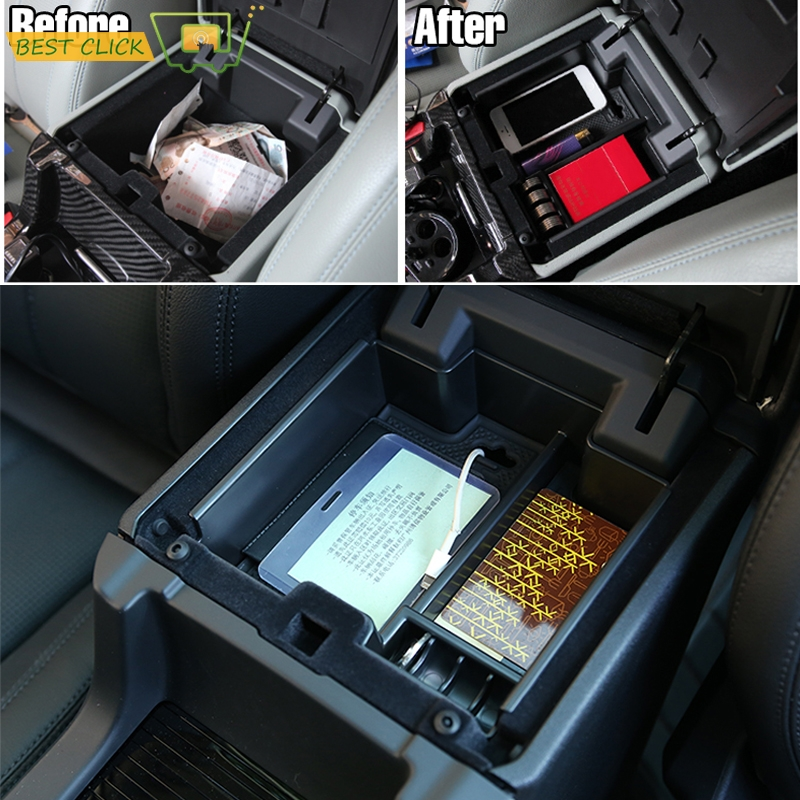 Land Rover Sport 2017 >> For Land Rover Discovery Sport 2014 2017 2018 Car Central Armrest Storage Box Console Arm Rest ...