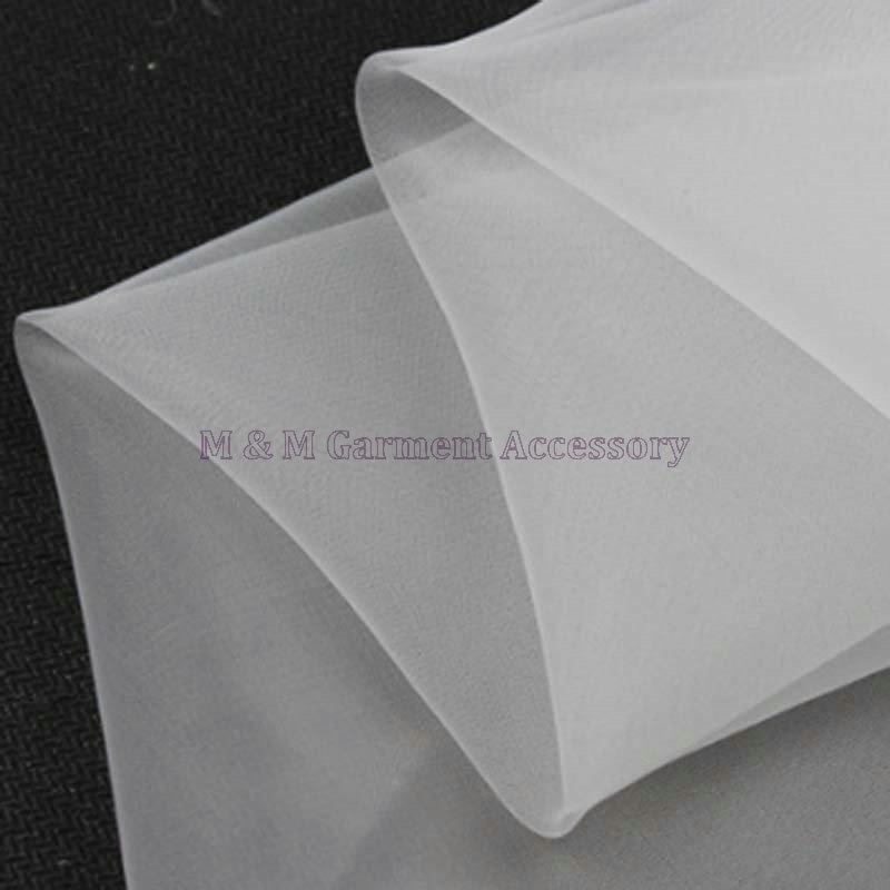 763e95a5205 Nouveau mode ( FZ ) lumière organza fils mat de polyester tissu jupe luxe  robe tissu tissu texturé tissu 150 cm   5 metros