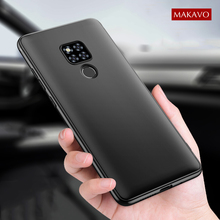 MAKAVO Cover For Huawei Mate 20 X Case Full Protec