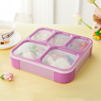 ONEUP 1200 м BPA бесплатная печать коробки для обедов Microwavable еда контейнер хранения с отделениями герметичные Bento box студентов работников