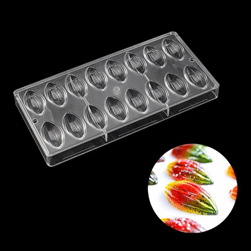 Rugby En Forme de Polycarbonate chocolat moule, Olives Polycarbonate Main Faire Des bonbons chocolat moluds de