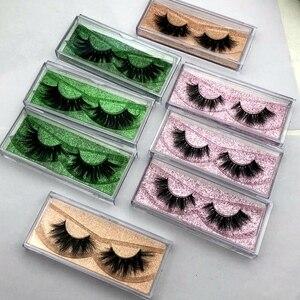 Image 2 - Wholesale Free UPS 50 pairs Mikiwi Eyelashes 3D 5D  Mink Lashes Handmade Dramatic Lashes 80 styles custom logo label lashes