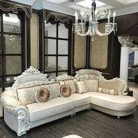 Европейский роскошный гостиной комплект мебели из ротанга
