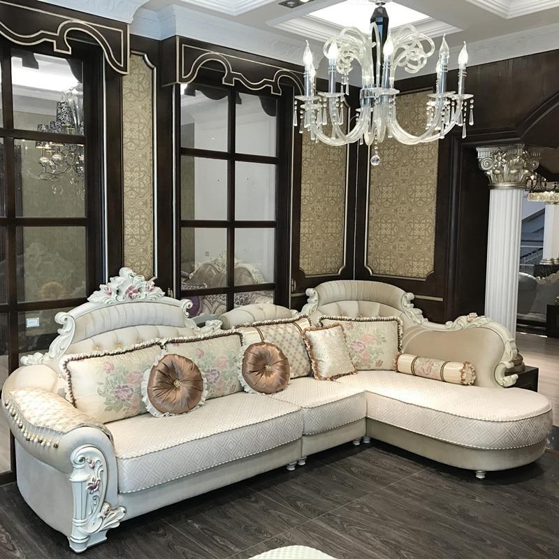 European Luxury Living Room Sofa Set FurnitureEuropean Luxury Living Room Sofa Set Furniture