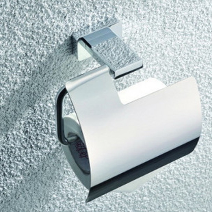 Wall Mounted Tissue Holder Stainless Steel Bathroom Toilet Towel Chrome Plated Toilet Paper Roll Tissue Holder Metal Towel Shelf stainless steel toilet tissue roll box wall mounted bathroom paper holder sturdy practical and user friendly