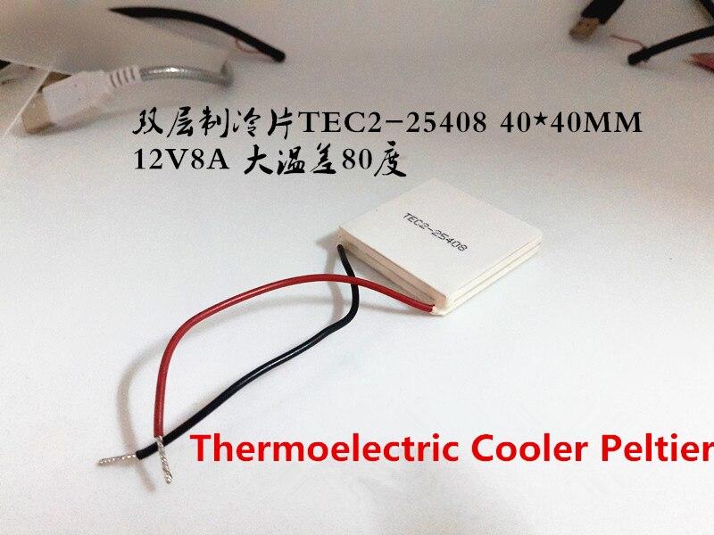 2PCS 65W Double layer Thermoelectric Cooler Peltier TEC2-254s