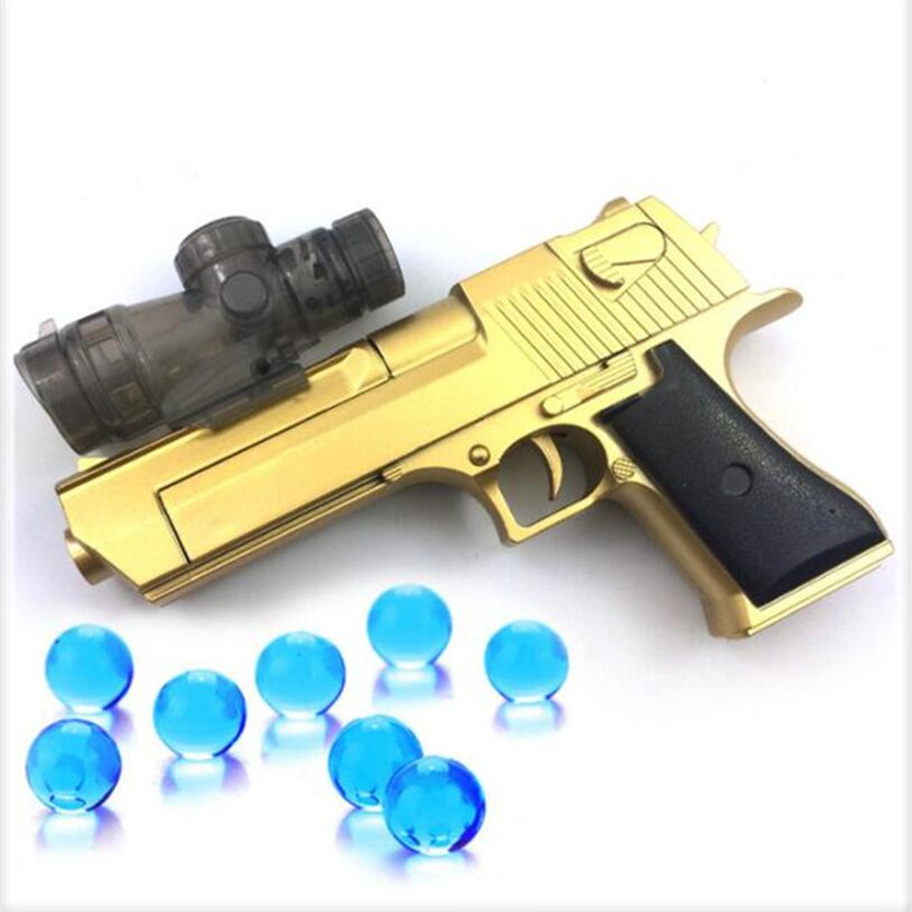 New Manual Water Bombs Soft Bullet Dual-use EVA Bullets Toy Gun Orbeez Paintball Airsoft Air Guns Boy Toys Birthday Gifts
