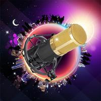 Hohe qualität Professionelle Kondensatormikrofon Podcast Studio Mikrofon für PC Laptop MSN QQ Aufnahme Shock Mount Halter Clip