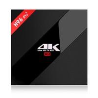 Alfawise H96 Pro+ TV Box Set Top Box 3G+32G/2G+16G/3G+16G Amlogic S912 Octa Core CPU Android 7.1 OS WiFi Mini PC Media Player