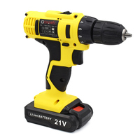 GOXAWEE 12V Electric Drill Two Speed Lithium Battery Rechargeable Cordless Drill Multi function Electric Cordless Screwdriver