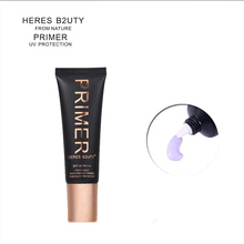HERES B2UTY Face Smooth Primer Make up Base Pores Invisible Brighten Dull Skin SPF 30/PA+++ Sun  Easy to Wear 2 colors 25ml недорого