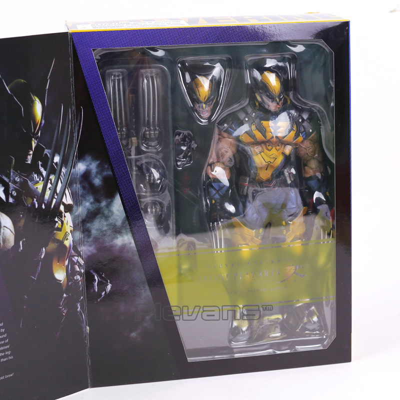 Play Arts Kai Marvel X-MEN Wolverine Logan PVC Action Figure 25