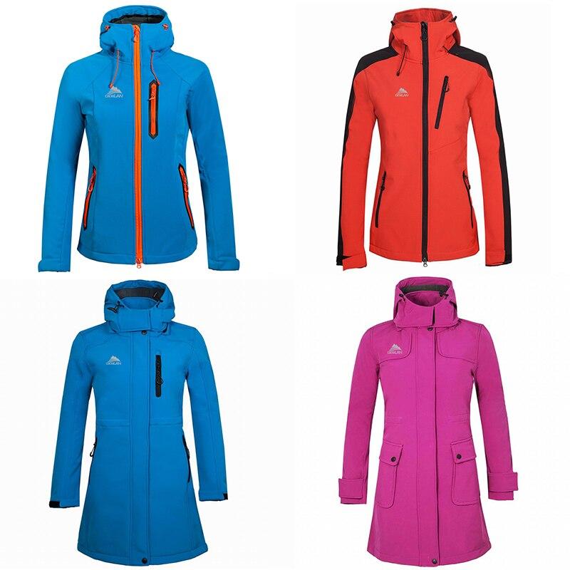 4 Styles Ladies Hoodie Hiking Camping Trekking Windbreaker Coat Climbing Softshell Outdoor Jacket Women Sport Fishing