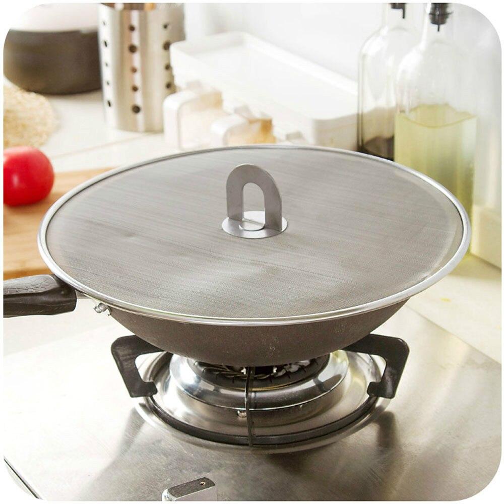 aliexpress : buy 33cm stainless steel pan cover lid oil