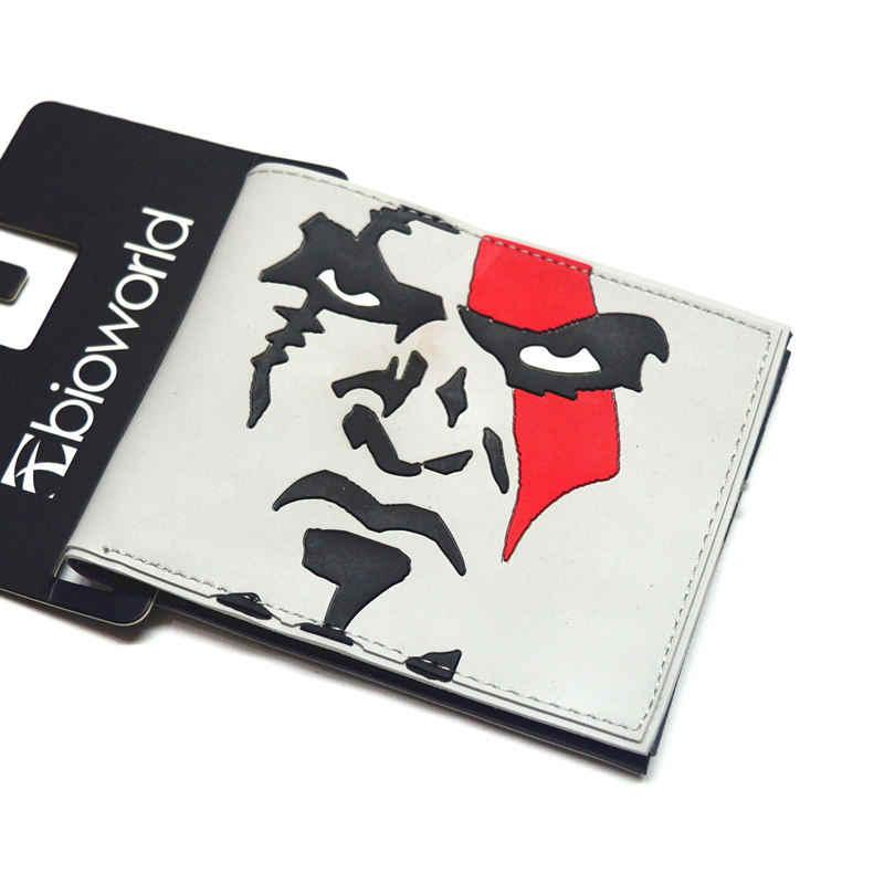 . Бумажник с изображением персонажей из мультфильма, сумка на молнии для кредитных карт, короткий кошелек, мы, голый медведь, Веном, бог войны, Overwatch