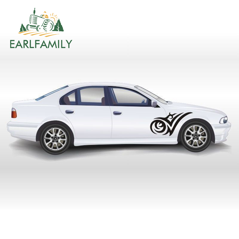 EARLFAMILY Beautifully Abstract Tribal Totem Dynamic Leading Car <font><b>Sticker</b></font> for <font><b>Motorhome</b></font> RV Kayak Canoe Home Car Decor Vinyl <font><b>Decal</b></font> image