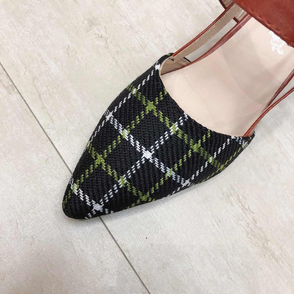 ผู้หญิงรองเท้าส้นสูงรองเท้าผู้หญิงสุภาพสตรีสายคล้องคอข้อเท้าแพลทฟอร์มส้นปั๊มส้นงานแต่งงานรองเท้า mujer #780