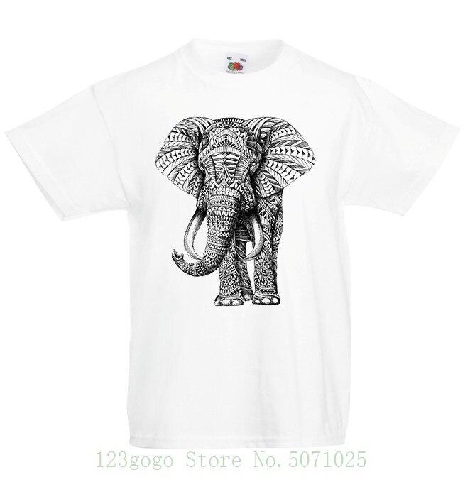 Elephant Kid/'s T-Shirt Children Boys Girls Unisex Top
