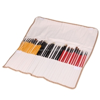 36Pcs 3 Style Portable Artist Paint Brushes Art Set For Acrylic Oil Watercolor H06