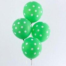 Зеленый горох балоны 50 шт. 12 дюймов 2,8 г надувные Свадебные Воздушные Шары Любовь счастливый Рождественский шар товары для дня рождения