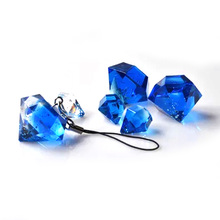 1pcs/lot Diamond Small Pendant Silicone Mold For Resin DIY Crafts Epoxy Jewelry Making Tools