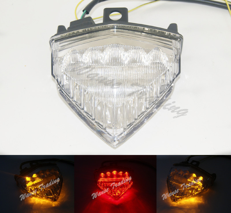 Taillight Tail Brake Turn Signals Integrated Led Light Clear For 2008 2009 2010 2011 2012 2013 2014 HONDA CB1000R CB 1000R SC60 aftermarket free shipping motorcycle parts led tail brake light turn signals for yamaha 2004 2009 fz6 fazer 600 clear