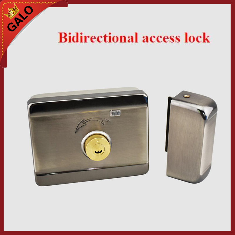 Building Electric control lock mute lock district electronic door lock Household anti-theft lock door motor Double-sided Key home electronic invisible wireless locks stealth remote control smart dark lock anti theft door lock