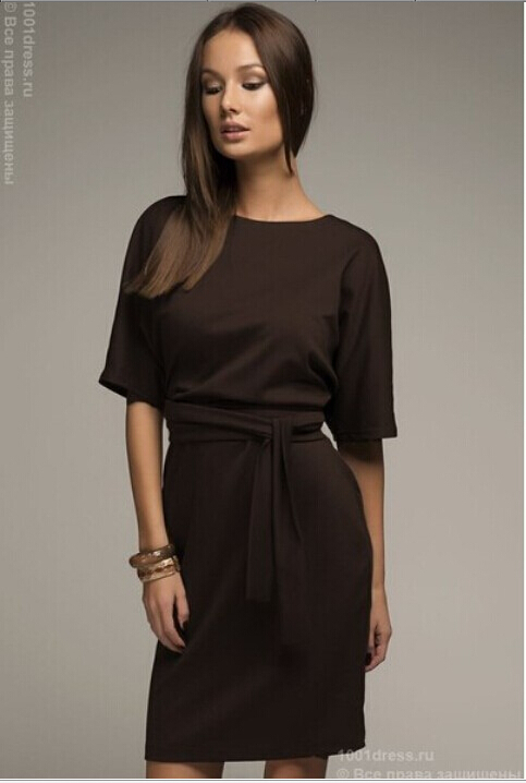 Popular Brown Dresses-Buy Cheap Brown Dresses lots from China ...