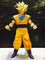 28cm Dragon Ball World Martial Arts Association Very Large Stand Son Goku Pvc Action Figure Toys